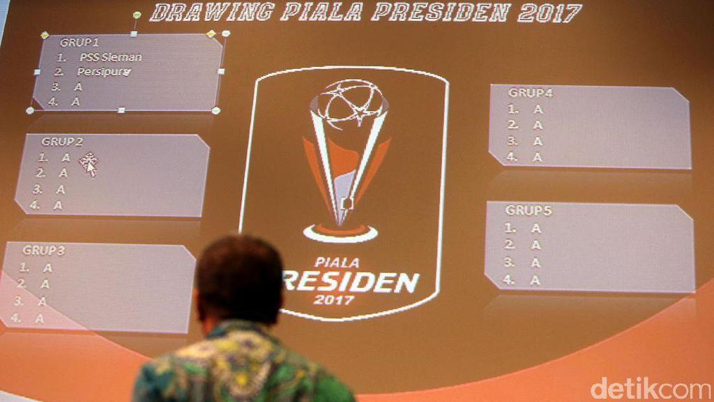 Ini Hasil Drawing Piala Presiden 2017