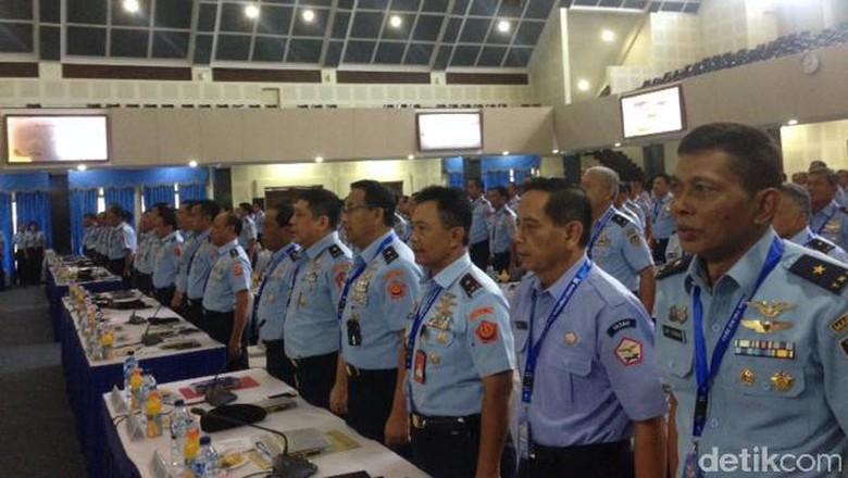 KSAU Gelar Rapim TNI AU 2017, Bahas Perkembangan Militer