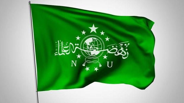 Ilustrasi bendera Nahdlatul Ulama.