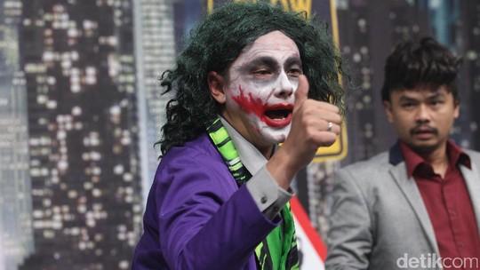Perankan Joker, Andika Pratama Tampil Kocak di OVJ
