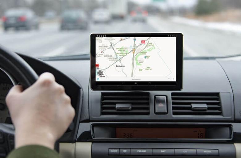 GPS di dalam mobil. Foto: Istimewa