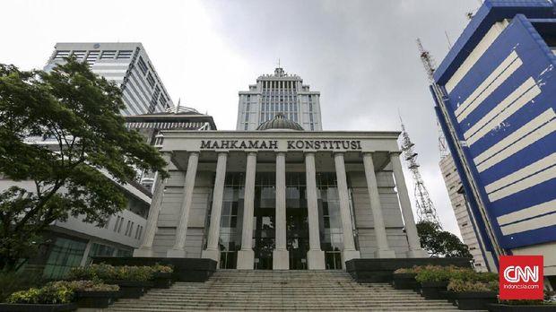 Gedung Mahkamah Konstitusi (MK), di Jakarta.