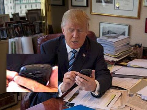 Donald Trump Galaxy S3