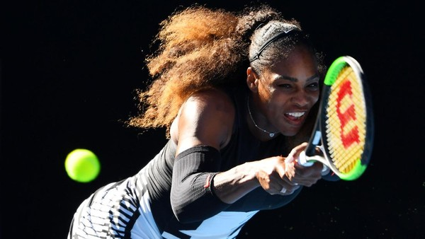 Laju Kencang Serena Williams