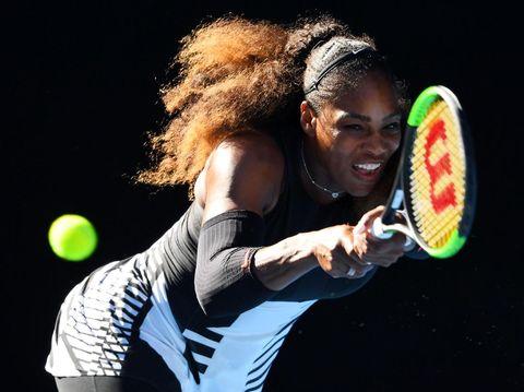 Foto: Pakai Bikini, Serena Williams Pamer Tubuh Atletisnya