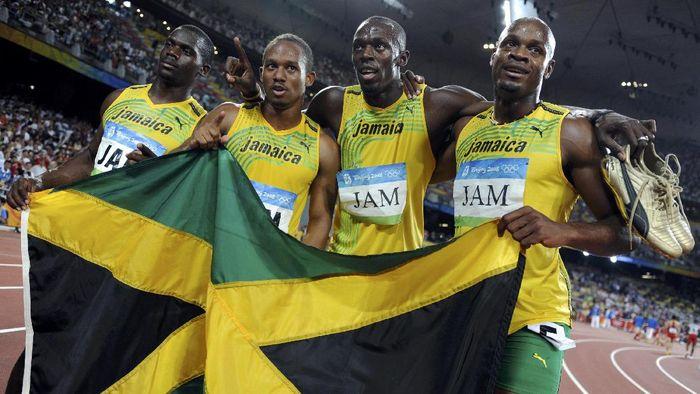 Foto: Bolt cs di Olimpiade 2008 (REUTERS/Kai Pfaffenbach/File Photo)