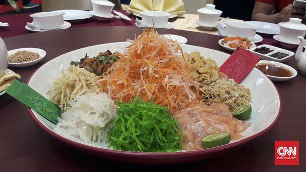 Tok Panjang Tradisi Makan Malam Kebersamaan Jelang Imlek