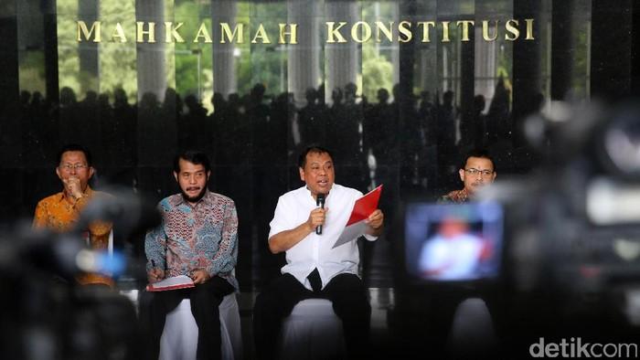 Jajaran Hakim MK (Ari Saputra/detikcom)