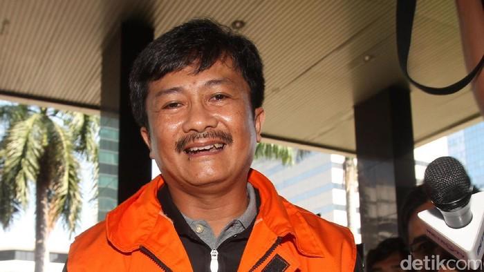 Kepala SKK Migas non aktif Rudi Rubiandini menjalani pemeriksaan oleh penyidik KPK