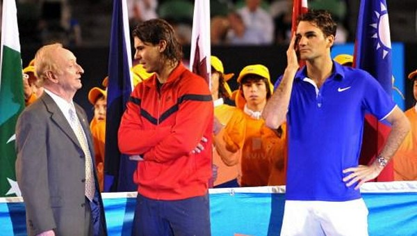 Federer vs Nadal ke-9 di Final <I>Grand Slam</I>