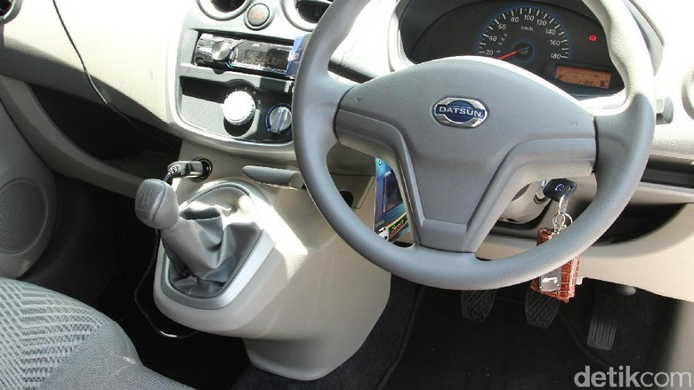 Siap-siap interior Datsun bakal lebih canggih dari ini ya? Foto: detikOto