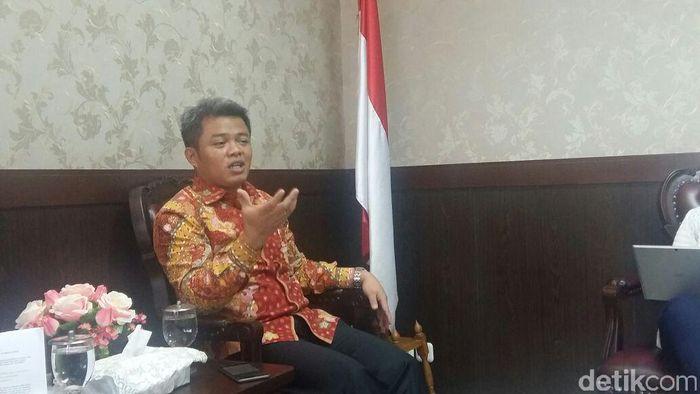 Mantan Ketua KPPU Syarkawi Rauf/Foto: Muhammad Idris-detikFinance