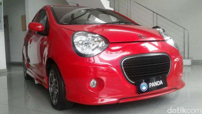 Mobil China Geely. Foto: Khairul Imam Ghozali