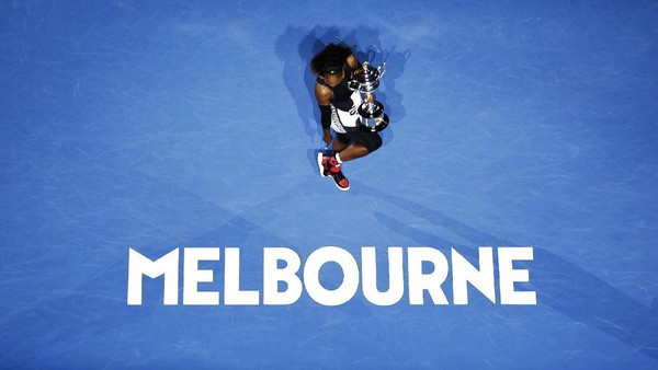 Sepatu Spesial untuk Merayakan Gelar Grand Slam ke-23 Serena