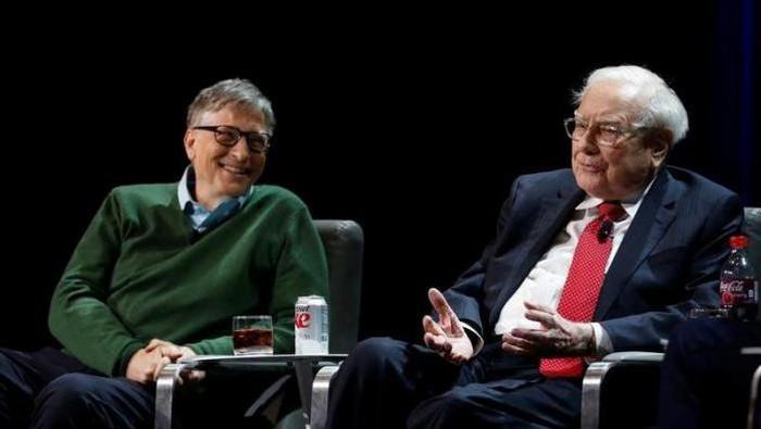 Foto: Bill Gates dan Warren Buffet (Reuters)
