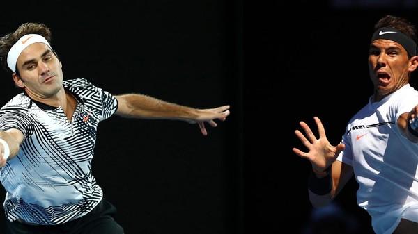 Angka-Angka dalam Pertarungan Federer vs Nadal