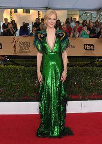 Nicole Kidman Ditemani 'Dua Nuri' di Karpet Merah SAG Awards 2017