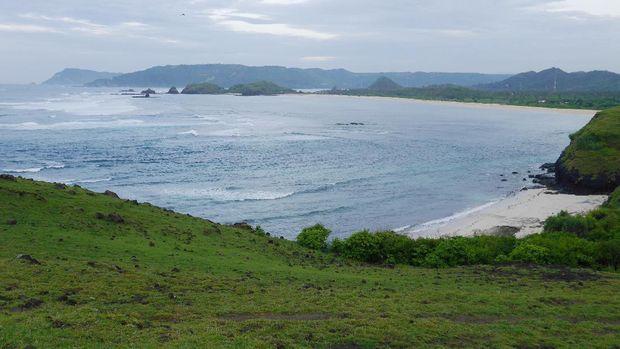 Panorama indah dari Mandalika