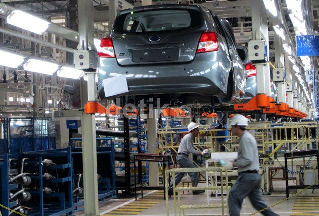 Pabrik Nissan di Purwakarta terakhir memproduksi Datsun. Tapi akhirnya Datsun disuntik mati.