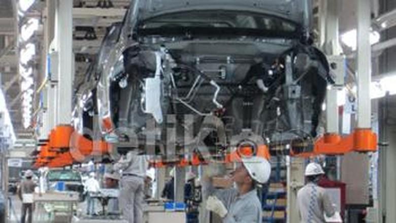 Pabrik Datsun di Purwakarta Foto: detikOto