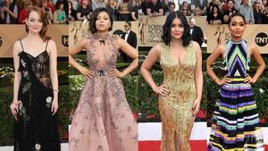 Tak Seperti Golden Globe, Red Carpet SAG Awards 2018 Lebih Berwarna