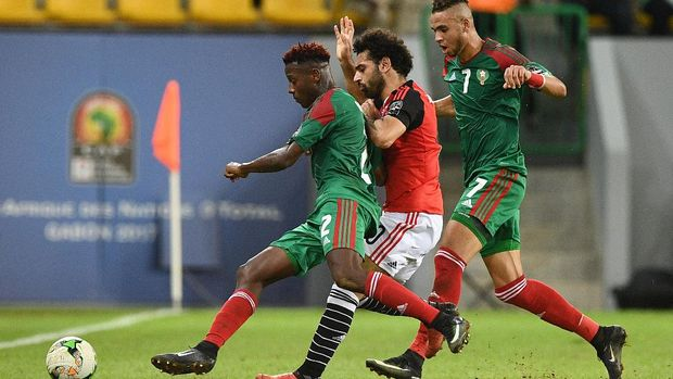 Mohamed Salah pernah mencetak gol di Old Trafford ketika membela timnas Mesir.