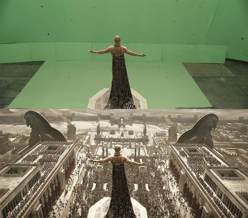 Salah satu teknologi canggih yang digunakan dalam produksi sebuah film layar lebar adalahmenggunakan teknologi CGI atau Computer Generated Imagery. Contohnya, seperti adegandi film 300 – Rise of an Empire.(Foto: Internet)