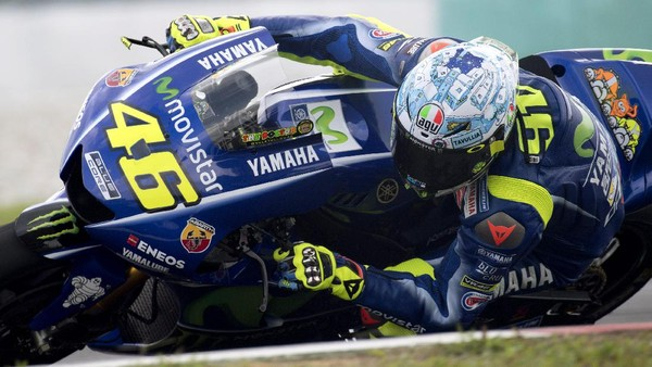 Rossi (Kembali) Mengejar yang ke-10