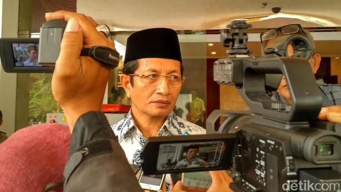 Nasaruddin Umar/Foto: Bartanius Dony A/detikcom