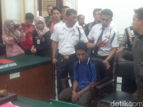 Mahasiswa UMSU Pembunuh Dosennya Divonis Penjara Seumur Hidup
