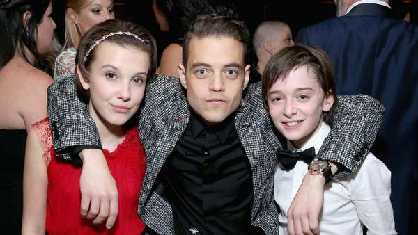 Cantiknya Si Eleven, Millie Bobby Brown di Pesta SAG Awards 2017