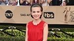Cantiknya Si Eleven, Millie Bobby Brown di Pesta SAG Awards 2017