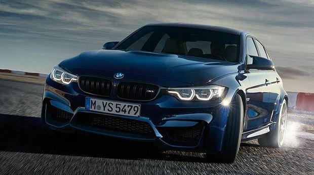 BMW M3 punya tampang baru.