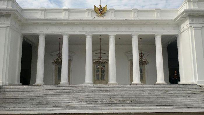 Foto: Istana Merdeka, Jakarta (Danu Damarjati/detikcom)