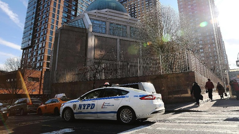 Polisi Perketat Keamanan di Masjid New York