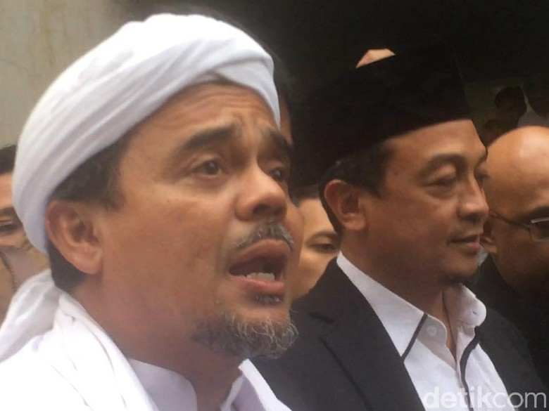 FPI Jabar Kawal Kasus Guru SMA yang Diduga Hina Habib Rizieq
