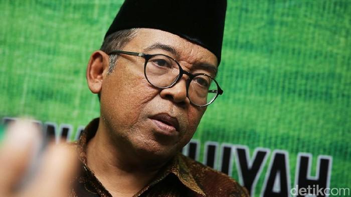 Ketua Bidang Infokom MUI Ketua KH. Masduki Baidlowi