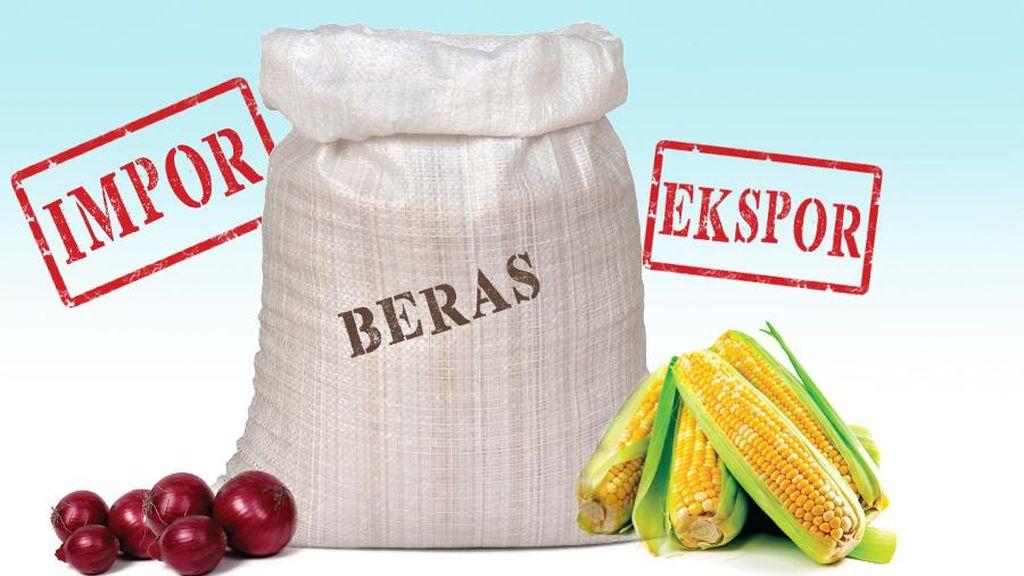 Prabowo Bingung Menteri Jokowi Tak Akur soal Impor Beras