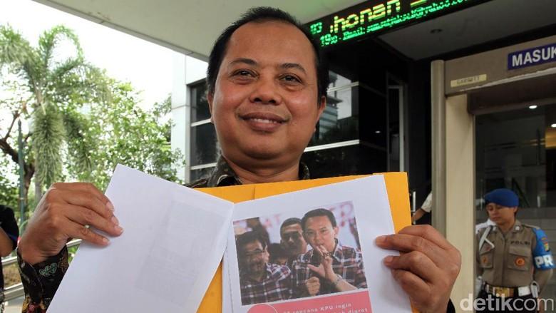 Ketua KPU DKI Datangi Polda Metro Jaya