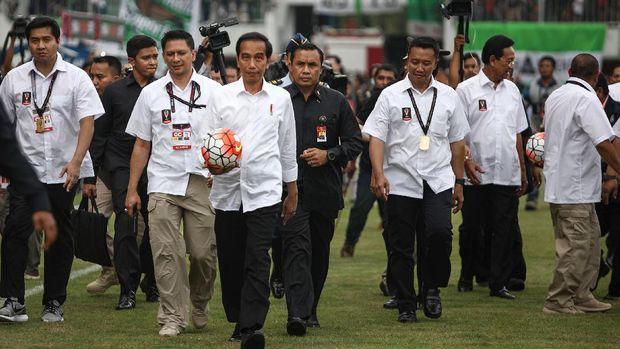 Piala Presiden rutin digelar di era Presiden Joko Widodo.