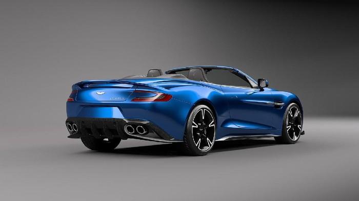 Aston Martin Vanquish S Volante Makin Seksi