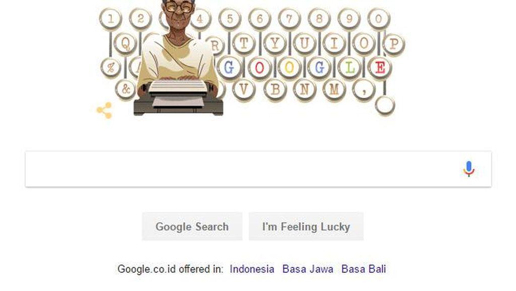 Google Rayakan Ultah Pramoedya Ananta Toer