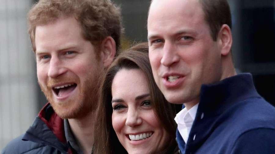 Serunya Adu Lari antara Pangeran Harry, Wiliam serta Kate Middleton