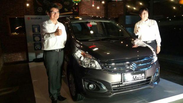 Suzuki Ertiga Diesel Hybrid Masih Impor dari India
