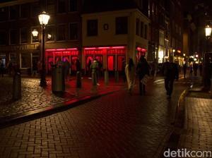 Foto: Objek Wisata Khusus Dewasa di Red Light District Amsterdam