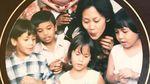 Foto Masa Kecil Pevita Pearce dan Kakaknya
