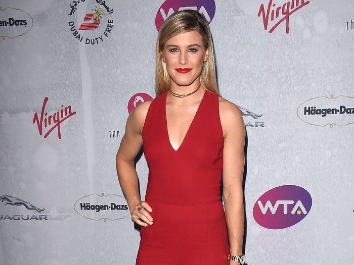 LONDON, ENGLAND - JUNE 23:  Eugenie Bouchard attends the annual WTA Pre-Wimbledon Party presented by Dubai Duty Free at the Kensington Roof Gardens on June 23, 2016 in London, England.  (Photo by Stuart C. Wilson/Getty Images for WTA Tour)