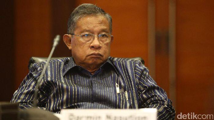 Menteri Koordinator Perekonomian Darmin Nasution/Foto: Hasan Al Habshy