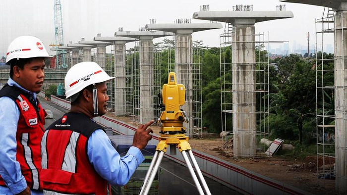 Proyek LRT Adhi Karya