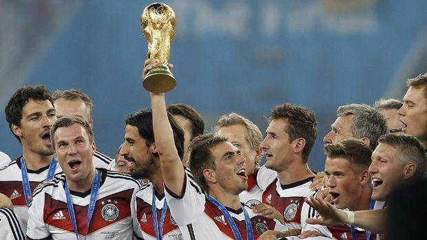 Timnas Jerman juara Piala Dunia 2018.